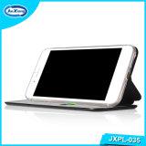 Standplatz-Einbauschlitze 360 TPU PU-Leder-Kippen-Fall für iPhone 5 Plus SE-6s für Samsung/Oppo