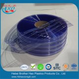 PVC Strip Polar Transparent Blue Color en environnement froid Industrie de la réfrigération