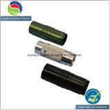 Il nero ha anodizzato i pezzi meccanici CNC per la parte della torcia elettrica del LED (AH2556)