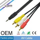 Sipu Factory Price Extension Câble AV Vente en gros Câbles Vidéo Aduio