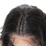 싼 7A 브라질 Virgin 흑인 여성을%s 사람의 모발 가발 150% 조밀도 잘 똑바른 가득 차있는 레이스 가발