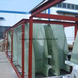 Clarificador de fibra de vidro para aplicação de água, águas residuais ou mineração