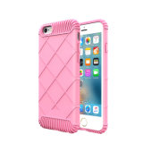 Sticheleien-Muster-feste Süßigkeit-Zuckerfarben-Shockproof Telefon-Kasten für iPhone7/7plus