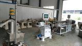 플라스틱 기계에 있는 쌍둥이 나사 압출기의 플라스틱 나일론 만드는 기계