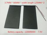 de Batterij van de 3766125pl7.4V 12000mAh Tablet