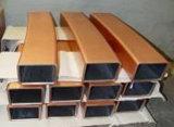 Tubo del molde del cobre de la colada continua del espesor 18m m de la talla 190m m