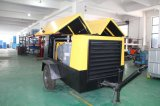 El tornillo portátil eléctrico de alta presión 7bar compresor de aire para chorro de arena