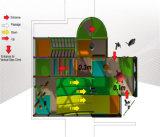 Parque de Diversões alegrar as crianças playground coberto com temática de selva