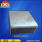 Dissipatore di calore di alluminio anodizzato di profilo per l'alimentazione elettrica del laser