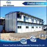 Niedrige Kosten-Licht-Stahlkonstruktion-Rahmen-Fertighaus für Arbeitskraft Domitory