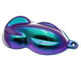 Pigmento do Chameleon, mudança em mudança no sentido diferente, pintura acrílica da cor do pigmento da cor amplamente utilizada no plástico, automóvel