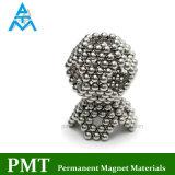 Ímã de NdFeB da esfera N33 com material magnético do Neodymium