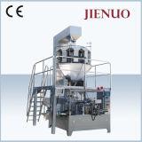 Máquina de embalagem de farinha de coco e empacotador