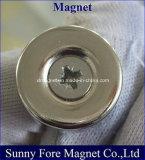 Dünnes Schrauben-Loch-runder Magnet
