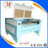 Tagliatrice del laser di marca della JM con colore su ordinazione (JM-1480T)