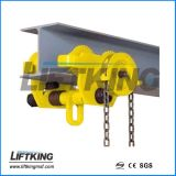 수동 단궤철도 트롤리, 수동 보통 트롤리, 수동 설치된 트롤리