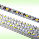 60LEDs/M SMD5050 알루미늄 엄밀한 LED 표시등 막대