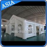 Tienda inflable blanca grande del almacén inflable / tienda del garage / tienda del pasillo del deporte / tienda inflable del túnel / tienda de la boda / tienda de campaña