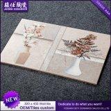 Mattonelle di ceramica blu di disegno delle mattonelle della stanza da bagno di Foshan 300*450