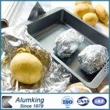 Envases vendedores calientes populares de la cacerola/de la bandeja de la empanada del papel de aluminio