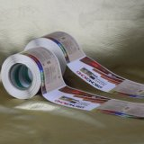 Высокое качество пользовательских клей печать виниловая наклейка этикетки