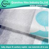 Super weicher Textilbaby-Windel-Backsheet lamellierter Vliesstoff
