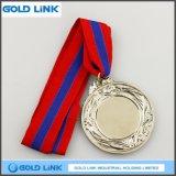 銀メダルのカスタム金属メダル硬貨のスポーツ賞の記念品
