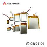 Batería recargable Lipo del Li-Polímero del polímero del litio de la UL 381018 3.7V 40mAh