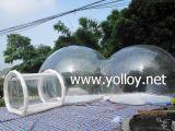 Claro inflable al aire libre Camping Publicidad Promoción de la tienda
