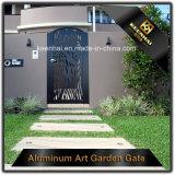 Corte a Laser Porta Corrediça de metal perfurada Jardim