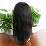 Parrucche piene diritte dei capelli umani del merletto del Virgin delle parrucche dei capelli umani della parte anteriore del merletto di densità di 130% della parrucca indiana dei capelli per le donne di colore