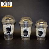 محبوب مستهلكة واضحة بلاستيكيّة ليّنة يشرب عصير فنجان
