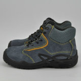 Безопасность пальца ноги кожи замши Ufa029 стальная Boots ботинки безопасности Metalfree