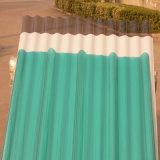 1mmの明確な波形の固体プラスチックポリカーボネートの屋根ふきシートはSunroomを使用した