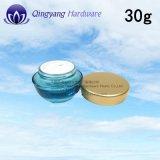 Protezione di alluminio della protezione di lusso all'ingrosso del metallo per il vaso di vetro 30g
