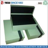 Серьги бархата/тканей бумажные/коробка ювелирных изделий подарка коробки кольца/браслета упаковывая