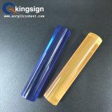 Barres rondes en plastique acrylique en couleur