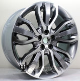 Fundición de aleación de 21 pulgadas coche rueda para Land Rover