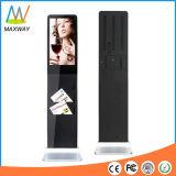 22 Bildschirm-Bildschirmanzeige-Kiosk des Zoll-Fußboden-Standplatz-Infrared/IR/Saw (MW-211ALN)