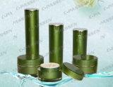 Frasco acrílico verde luxuoso do frasco de Cosmtic da chegada nova (PPC-CPS-077)