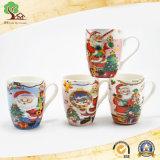 Tazza di ceramica di nuovo disegno con la stampa personalizzata per il regalo di natale