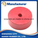 Cojín elástico de goma personalizado para acoplamiento