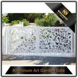 Diseños de aluminio del tubo principal del jardín del corte del laser