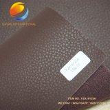 Synthetisches Leder für PU-Beutel mit dem Scharen der Gefühls-Oberfläche