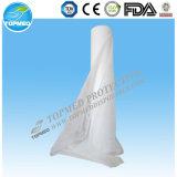 Papier de soie de soie enduit de PE en roulis pour le bâti médical