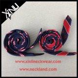 Laço Handmade do logotipo de 100% Seda Jacquard Tecelagem Homens Companhia