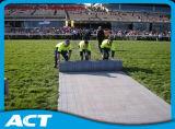 覆う耐久の草の保護床タイル- Greenex
