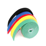 100% Nylon gancho y bucle auto-adhesivo de la cinta de sujetador