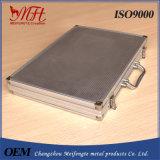 Kundenspezifischer Aluminiumlegierung-Werkzeugkasten-/Kampf-Kasten mit ISO9001 bescheinigt