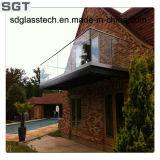 Verre stratifié de 6 mm à 12 mm pour clôture de construction / piscine